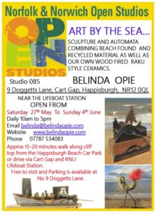 Belinda Open Studios - 27 May to 4 June 2017